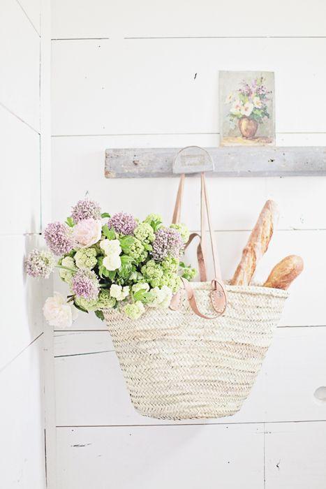 Four Handles French Market Basket