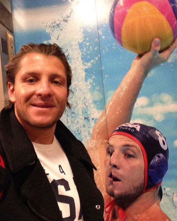 USA Water Polo team captain and NYAC athlete Tony Azevedo visited the Club during the 100 Days Out Event. Rio will be his fifth Olympic Games.