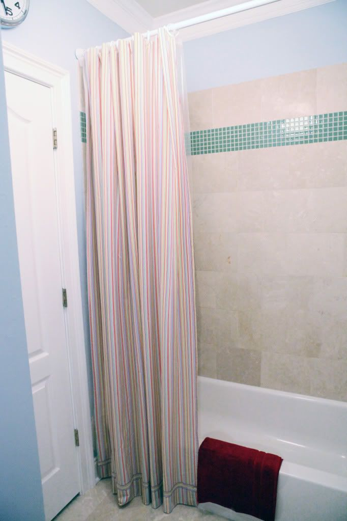 Curtain Call Walmart Bathroom Makeovers And Straight Lines
