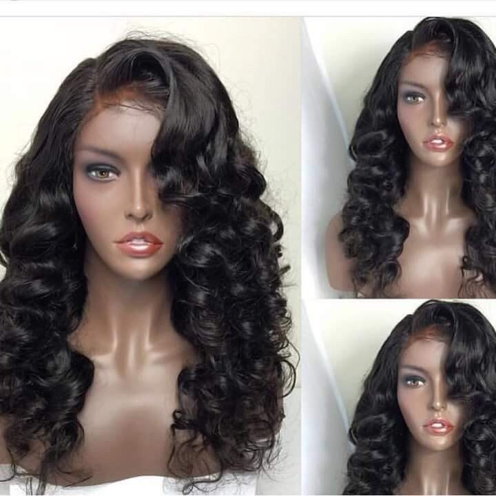 Brazilian Full Lace Wigs With Baby Hair Natural Hairline Wigs For Black Women Best Body Wave Lace Front Wig