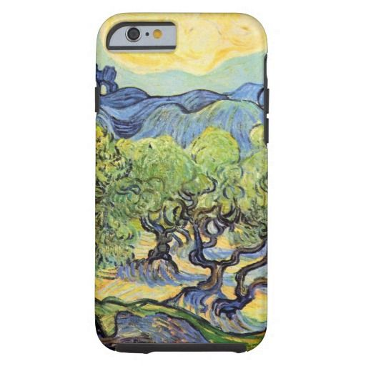 Van Gogh Olive Trees, Vintage Post Impressionism Tough iPhone 6 Case