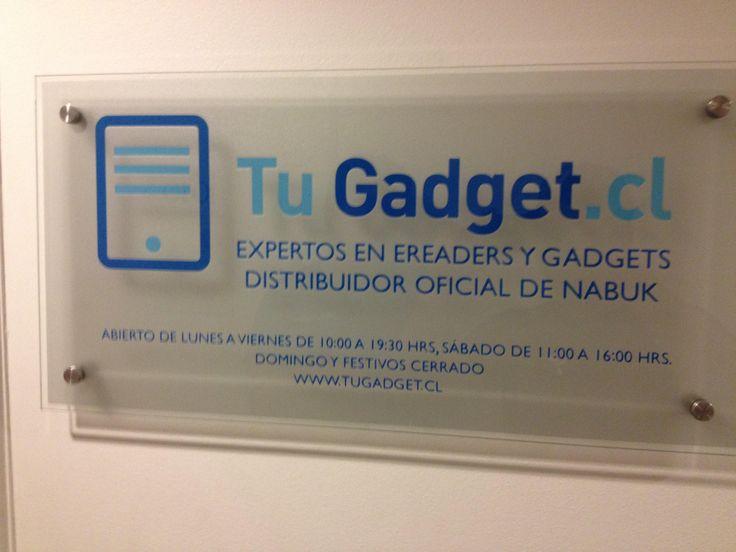 letrero en vidrio 6mm espesor ventas@conceptovinilo.cl