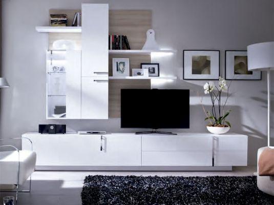 Mejores 11 imágenes de Salones modernos XL en Pinterest | Mueble ...