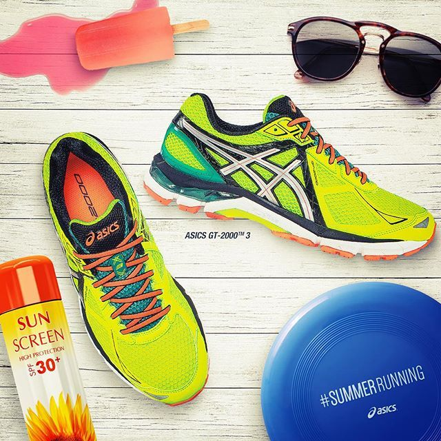 Double-tap if your #summer #SundayRunday looks like this! Anything missing?  Shop #ASICS shoes to get your from the #beach to the #BBQ by clicking the  link ...