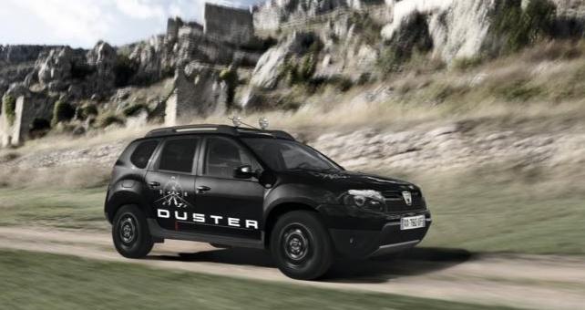 Dacia Duster, el todo-terreno de éxito en España, presentó en el Salón de Ginebra 2013 una serie limitada inédita: Duster Adventure, que se caracteriza por un look espectacular que se añade a sus virtudes prácticas de siempre.