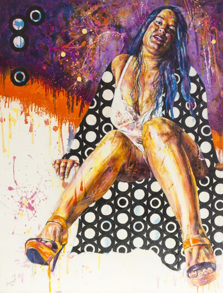 """Wrapped in Black"" by Vernon Fourie 