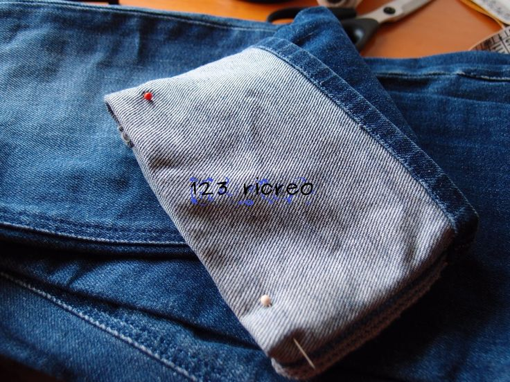 #orlo ai #jeans pesanti: come fare senza sforzare la nostra macchina da cucire - YouTube canale 123ricreo