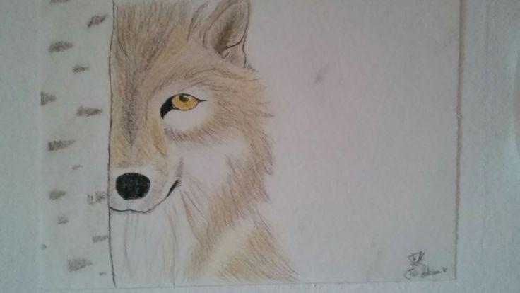 #zeichnen#malen#wolf