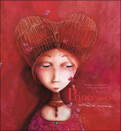 Rebecca Dautremer  This is such a beautiful book, I read it with my daughter and the illustrations are sumptuous.