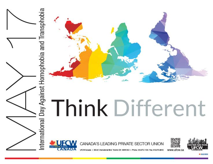 UFCW Canada Supports International Day Against Homophobia and Transphobia