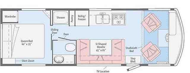 Winnebago Chieftain Floor Plans Google Search Floor Plans Winnebago How To Plan