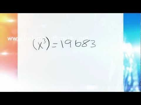 ▶ Find the cube root of any number in under two seconds ! - YouTube
