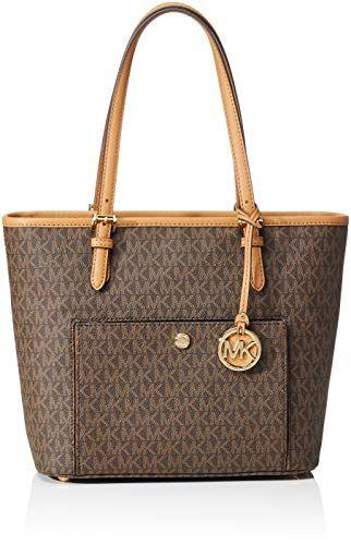b33634038b4d MICHAEL Michael Kors Jet Set Travel Medium Logo Tote -  michael  kors   Handbags