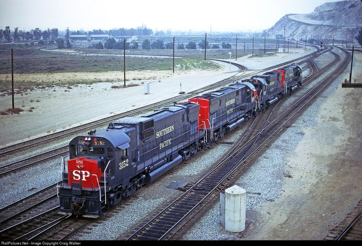 RailPictures.Net Photo: SP 3152 Southern Pacific Railroad Alco C630 at Bloomington, California by Craig Walker