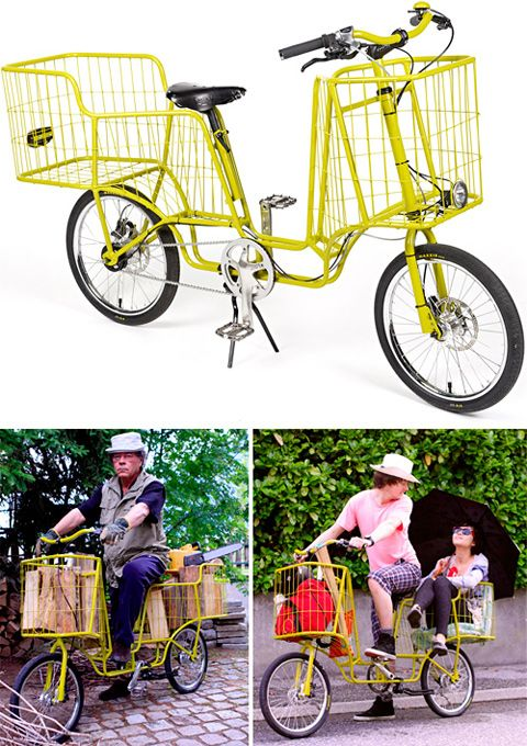 I love cargo bikes but can only use one if I can live where it's flat -- like here. That said, half the time I'm hauling the dog. Most of the time I'm hauling the kid, but I'd be fine with adapting the back section of this to safely hold a seat. But the dog, the kid, and the cargo? I'm not that strong.