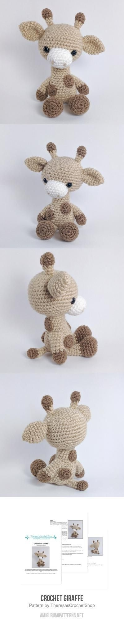 Crochet Giraffe Amigurumi Pattern by dominique