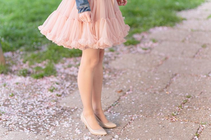 spring with dolly pettiskirt #dollyskirt
