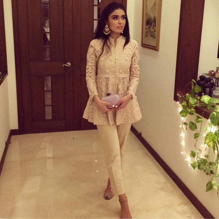 "Fashionista on Instagram: ""The gorgeous Shazah Ayub stuns in @sehrishrehan  #pakistanchicfashion"""