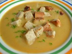 Cuketová krémová polievka, recept s názvom - Cuketová krémová polievka. Recept je zaradený do kategórie Zeleninové polievky, Polievky