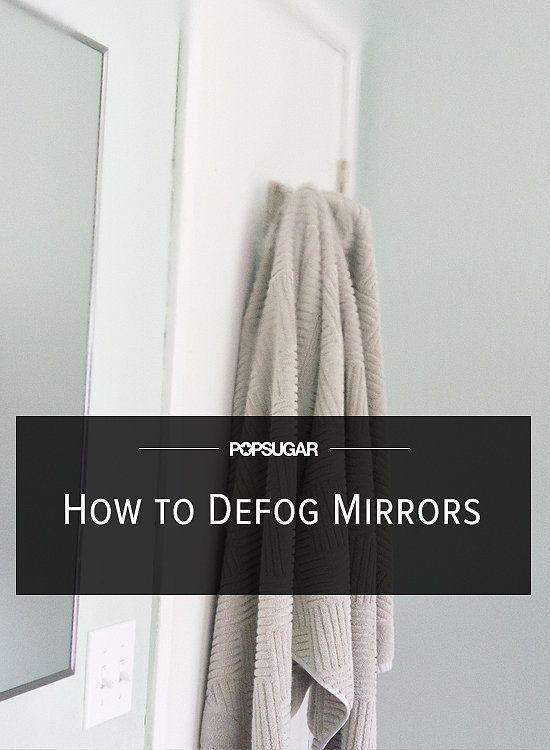 This bathroom hack will keep your mirrors fog free towels soaps and bar - Simple ways keep bathroom mirror fogging ...