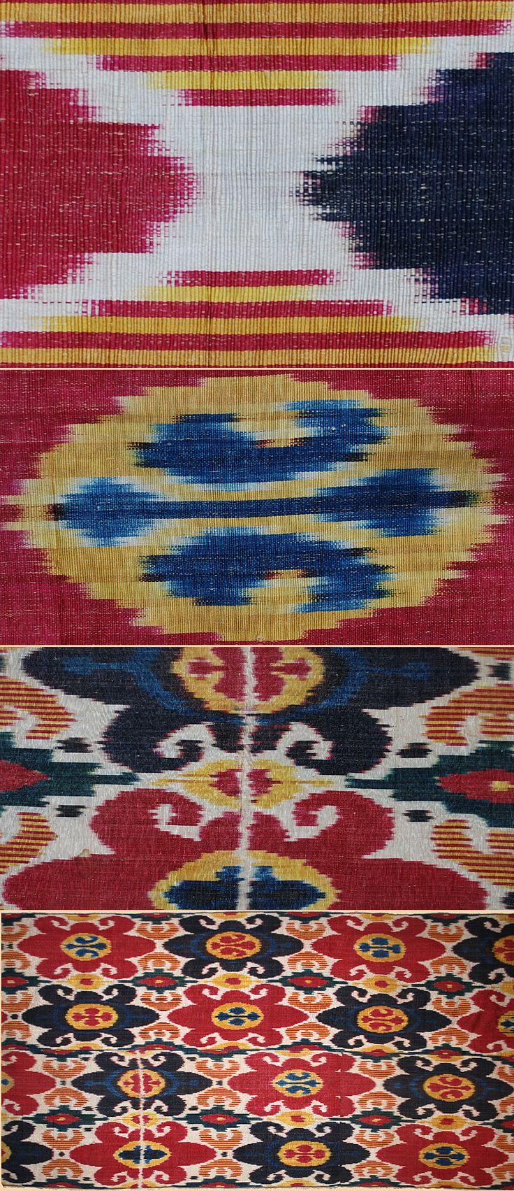 1154 Best Central Asia Textile Art Images On Pinterest