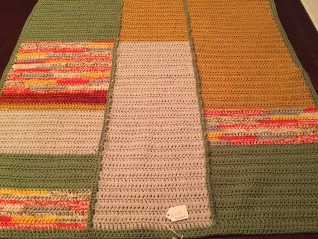 First blanket for SixtyMillionTrebles, more blankets in my future.