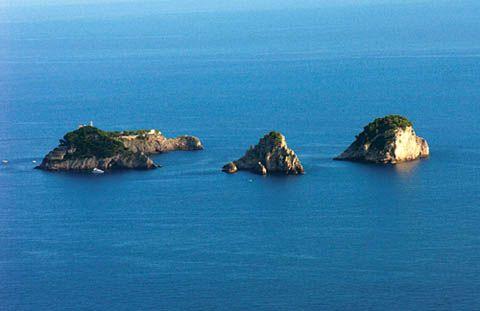 Positano - Isole de Li Galli