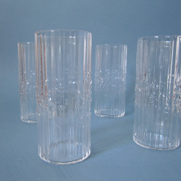 iittala Mesi by Tapio Wirkkala - I have one of these glasses (thrift score) nice to know what it is!