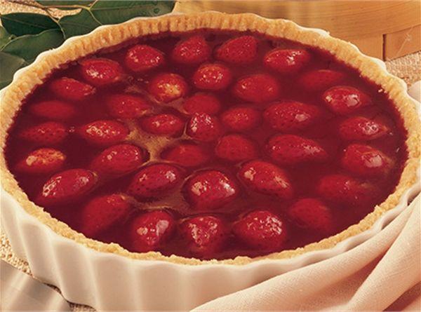 Torta Espelhada de Morango                                                                                                                                                                                 Mais