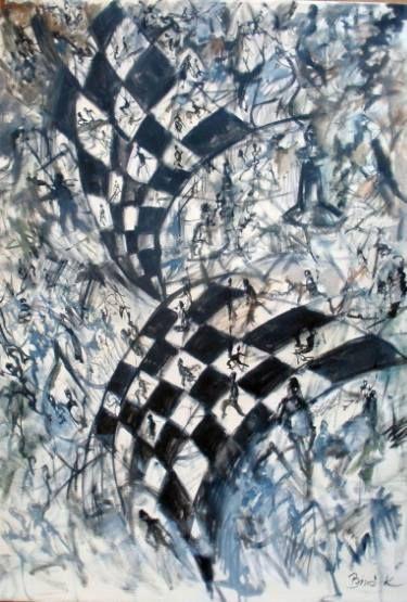 Chess series Konrad Biro art SOLD ORIGINAL