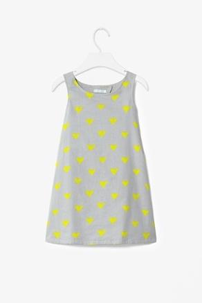 Heart Print Dress - Cos