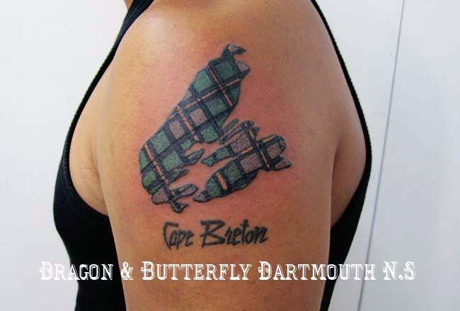 Cape Breton Tartan Tattoo