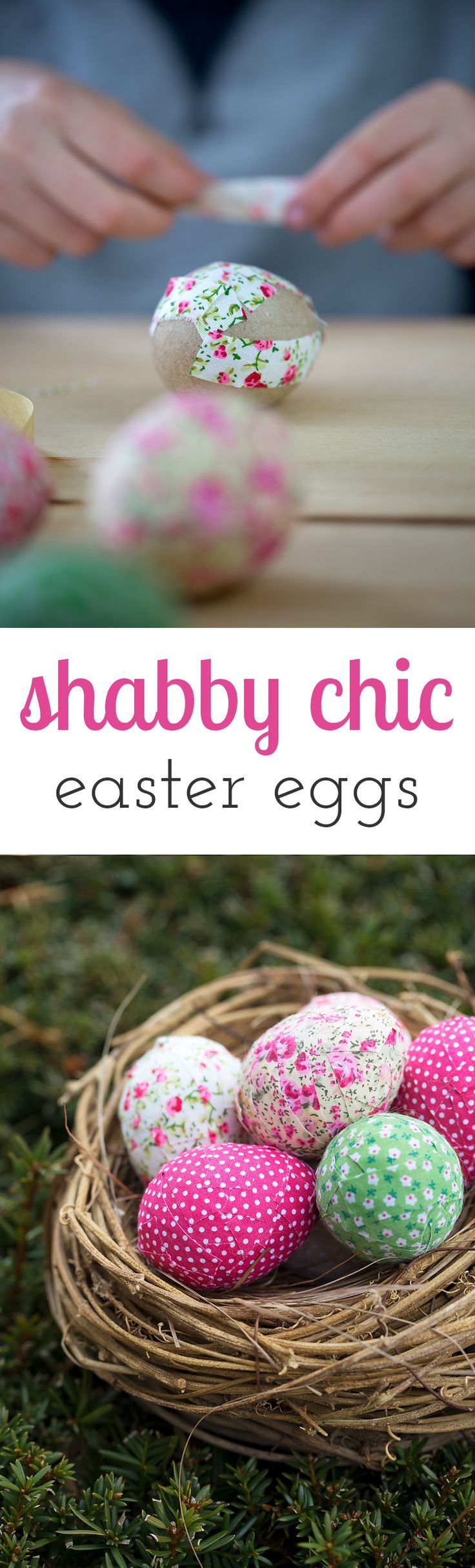 Outdoor easter decorations pinterest - Learn A Simple Trick For Creating Colorful Shabby Chic Inspired Easter Eggs For Your Home