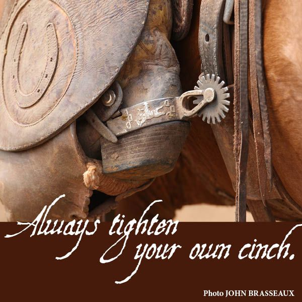 Cinch, Cowboys, Cowboy Ethics, Cowgirls