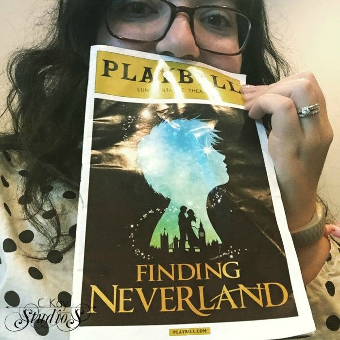 ckay studios finding neverland broadway review