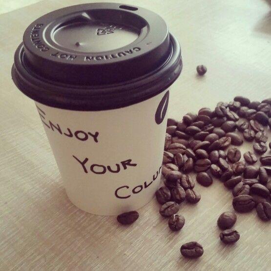 Enjoy your Columbia coffee