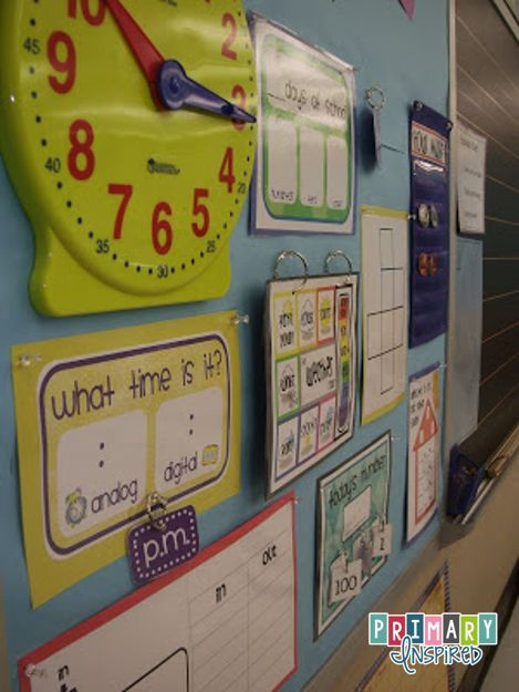 Wow! Math wall with everything pack!