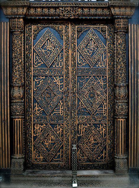 Doors of Stone Town, Zanzibar - IX by scurvy_knaves, via Flickr