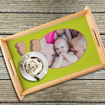 Serviere dein Osterfrühstück auf deinem selbst gestalteten Tablett