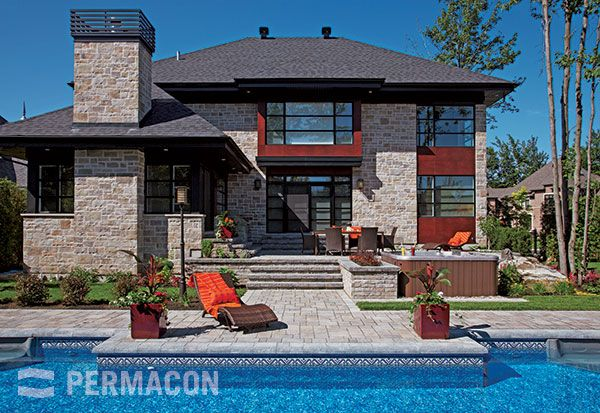 Lafitt Stone range Margaux beige permacon.ca  available at our store at 3500 Mavis Rd, Mississauga, ON L5C 1T8