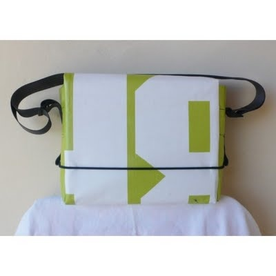 Loopcase upcycled - recycled canvas bilboard bags made in Wanaka NZ