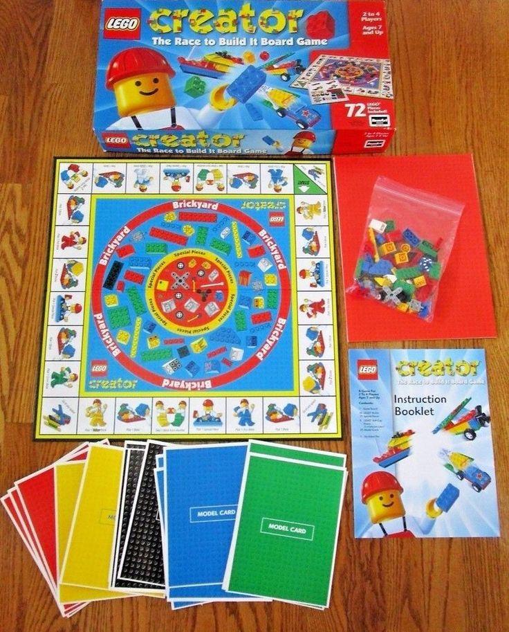 Board Game Lego Creator. Move around the board and