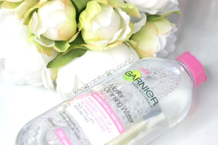 Garnier Micellar Water – The new holygrail of makeup removal