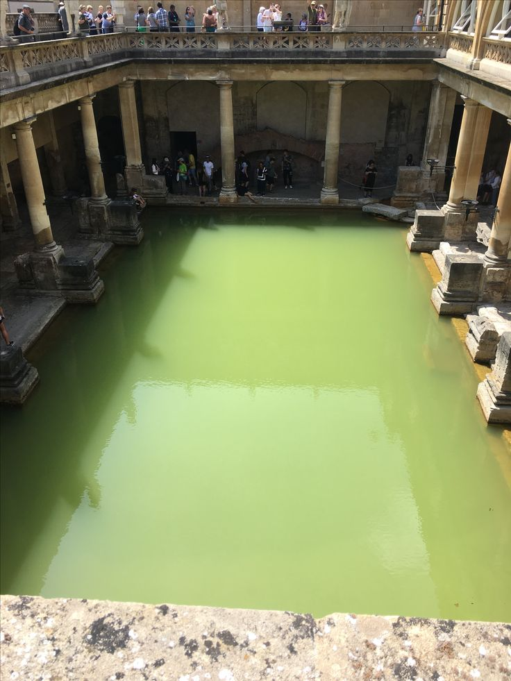 the temple was dedicated to the goddess Sulis  #bath #romanbaths