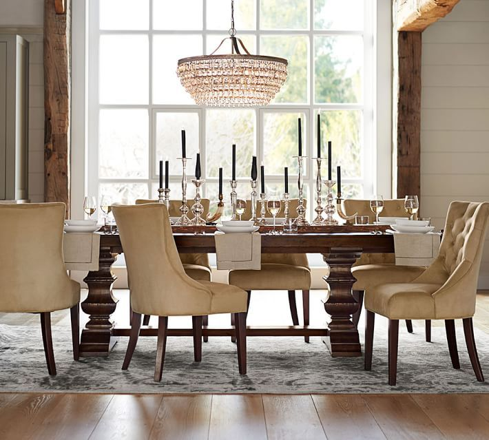 Pottery Barn Dining Room Set: 62 Best Images About PB: Spring 16 On Pinterest