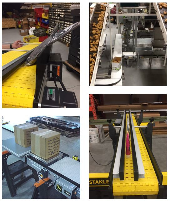 SmartMove® Packaging Conveyors Give You Many System Options To Choose From