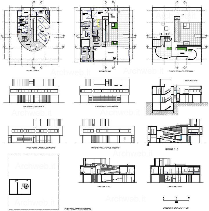 Villa Savoye 2d zoom