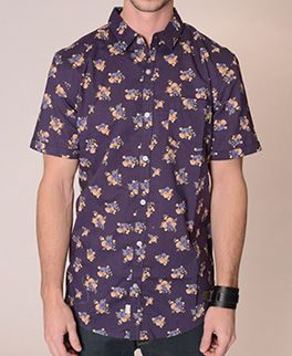 Lucky 7 Short Sleeves dress shirt available @denimkings. Perfect for hot weather !!