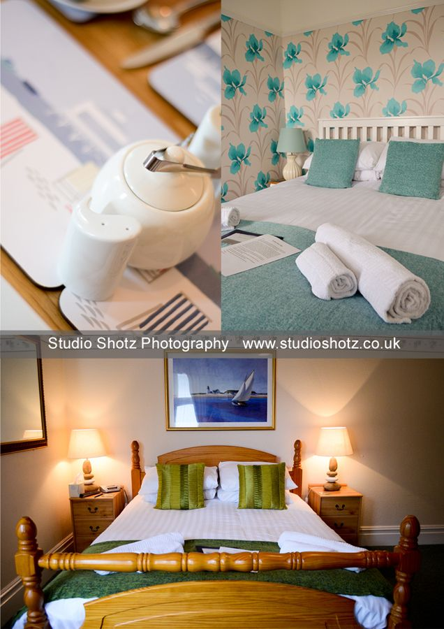 Commercial, Business Marketing Photography for hotel b&b in Southbourne, Dorset