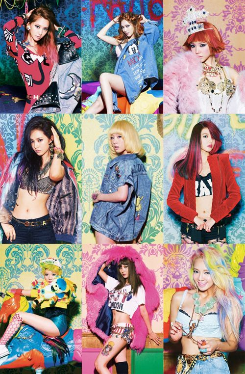 SNSD (Girls' Generation) CONCEPT I GOT A BOY
